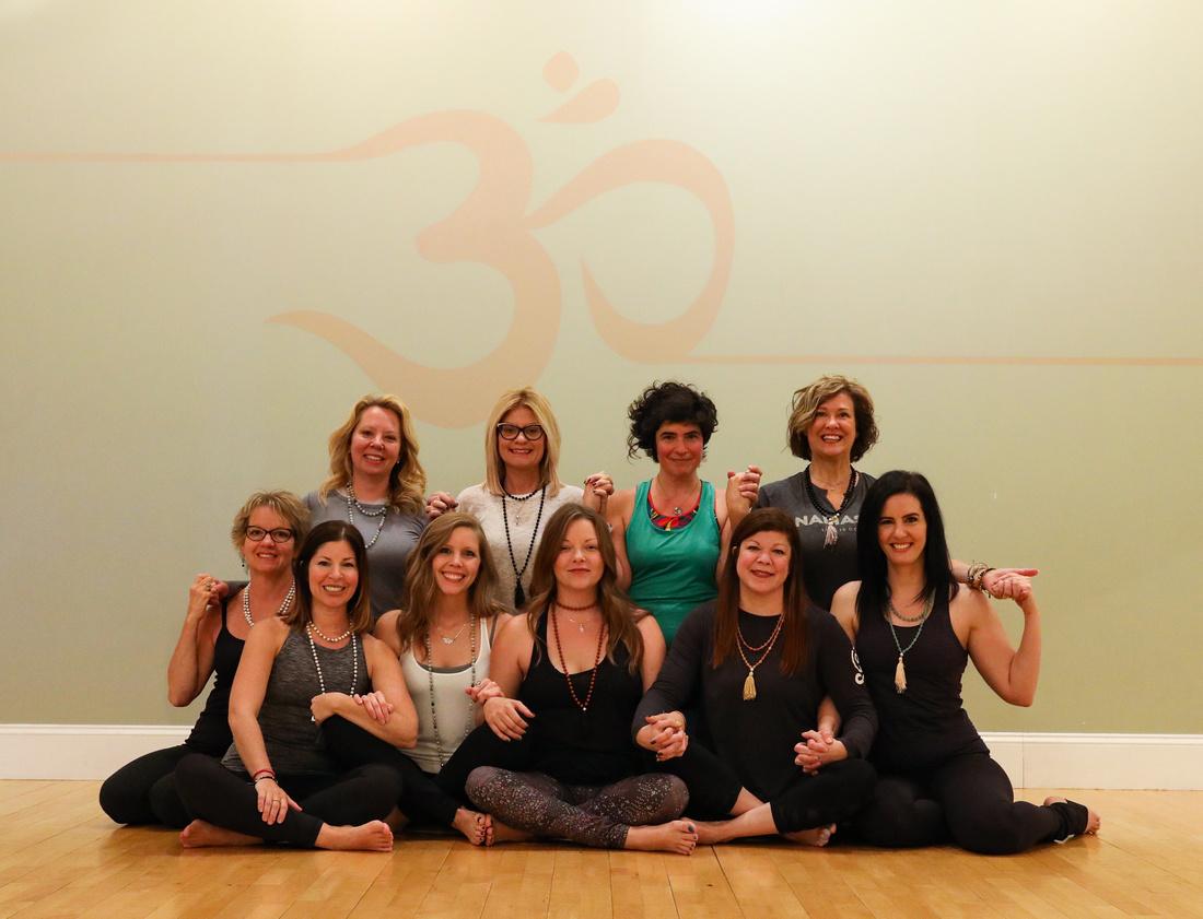 Yoga Sisters for Life...Namaste